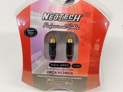 Neotech NEI-4002 Finished Cables - 2m