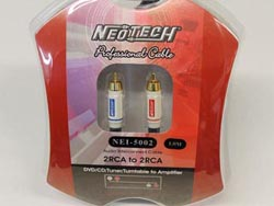 Neotech NEI-5002 Finished Cables - 1m