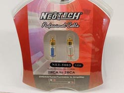 Neotech NEI-5003 Finished Cables - 2m
