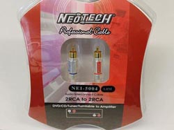 Neotech NEI-5004 Finished Cables - .5m
