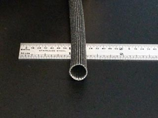 2 Gauge Black Fiberglass Sleeving