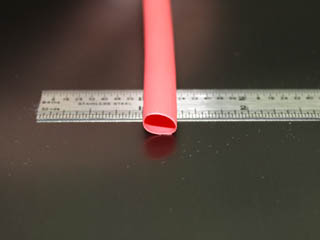"1/4"" Red 3:1 Polyolefin"