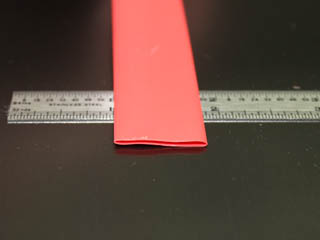 "1/2"" Red 3:1 Polyolefin"