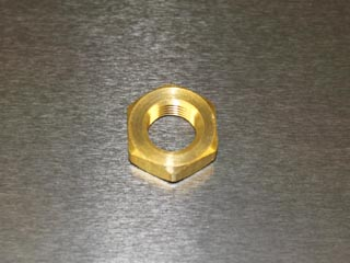 Cardas Binding Brass Post Mounting Nut