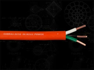 Cardas In-Wall Power Cable 3x10