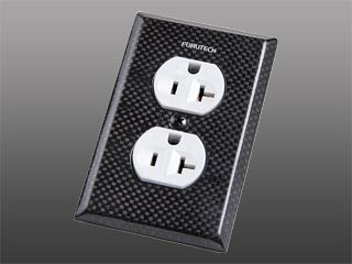 Furutech 104-D AC Outlet Cover