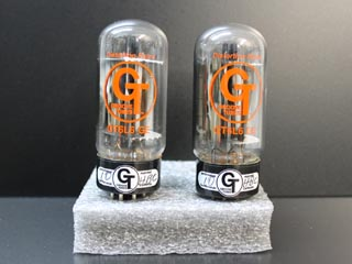 NOS Matched Pair: Groove Tube GT-6L6GE