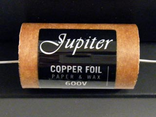 Jupiter Copper Foil 0.22uF 600VDC