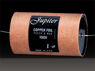 Jupiter Copper Foil 10.0uF 100VDC
