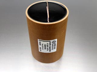 Miflex KPCU-02 4.7uF 600VDC Copper foil Poly/Paper in Oil