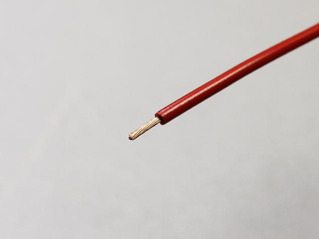 Neotech Stranded UPOCC Copper in PVC 18 AWG Red